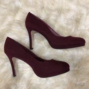 Dark Purple heels